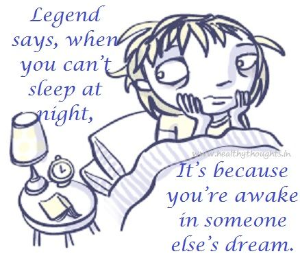 sleepless quotes | Legend About Sleeplessness