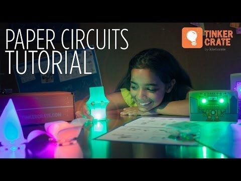 Tinker Crate Paper Circuits Crate | Kids Crafts & Activities for Children | Kiwi Crate