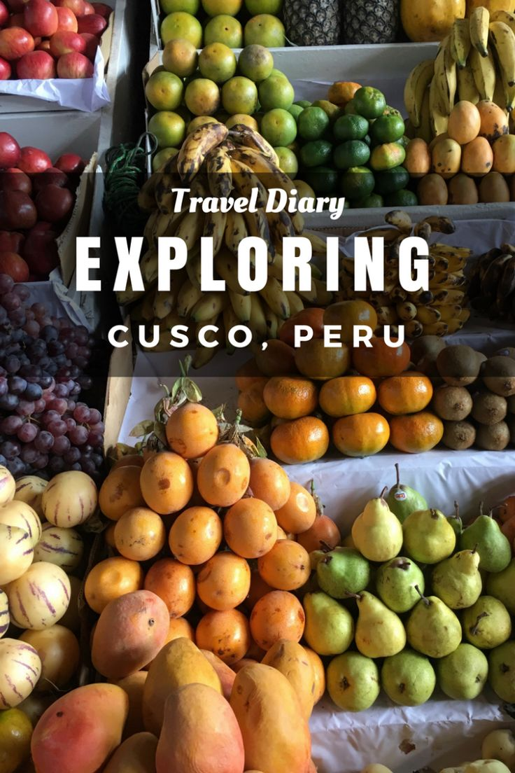 Exploring Cusco, Peru: Day 2