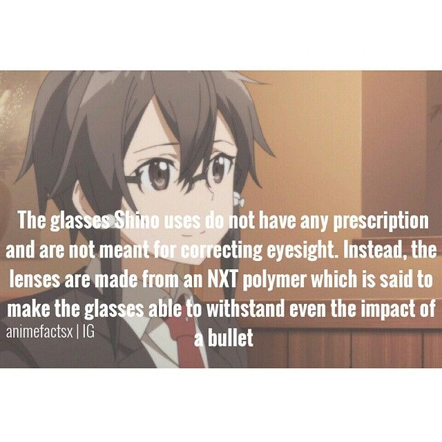 Fun facts about Shino (Sinon). -- Sword Art Online, season two, SAO, GGO, Gun Gale Online, anime