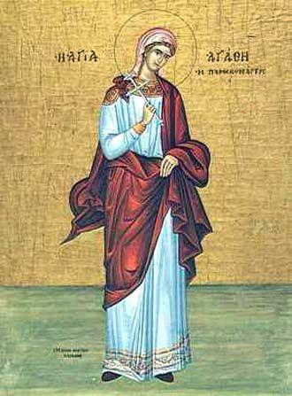 Heilige Agatha