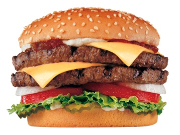 Double your deliciousness at Carl's Jr. with a Super Star with Cheese.