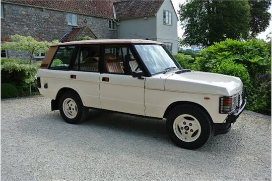 A 1982 Range Rover Mk I Monteverdi, registration number OYH 555Y, ivory. The Range Rover Monteverdi was launched in March 1980 at the Geneva Motor Show. The Monteverdi designed conversions were produced by the Fissore Works in Italy and sold via Land Rover dealers with a full factory guarantee and service backup. The production of these four door conversions was short lived with Land Rover introducing its own four door model in 1981. This Monteverdi was originally owned by Black Sabbath…