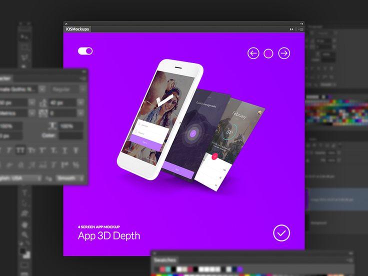 Ios Mockups Photoshop Plugin Photoshop Plugins Mockup Photoshop Photoshop