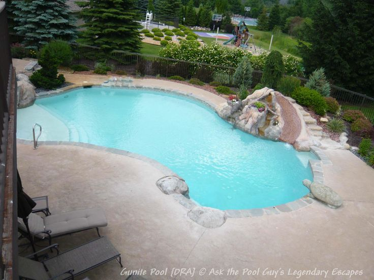Best 25+ Gunite pool ideas on Pinterest | Gunite swimming pool ...