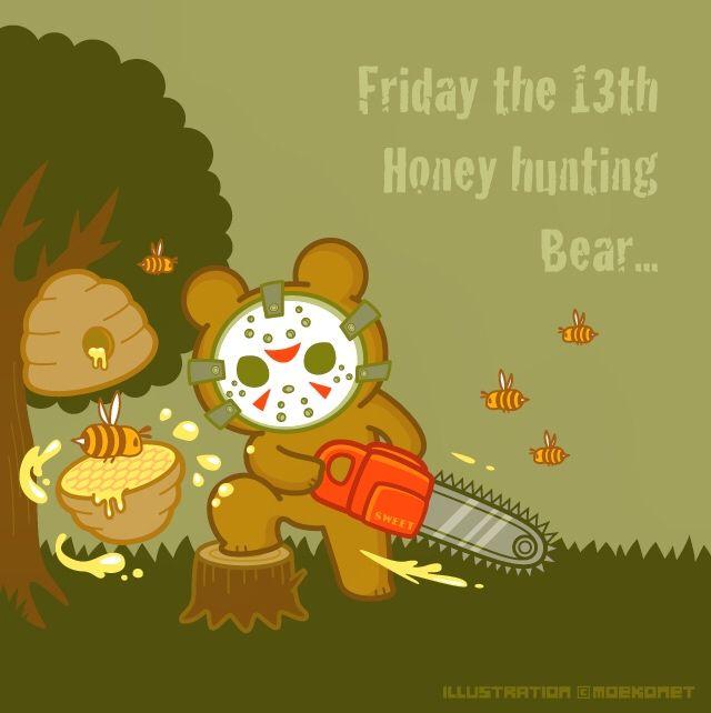 13日の金曜日 ジェイソン チェーンソー 熊 蜂