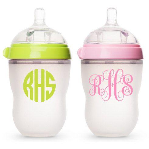 Five 5 Baby Bottle Labels/Daycare Labels/School by FreeSpiritsATX