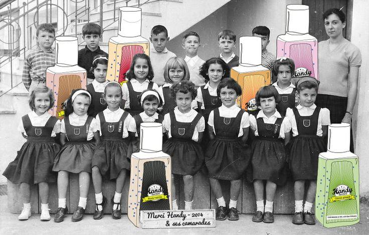 www.mercihandy.fr #classe #enfants #camarade #ecole #montage