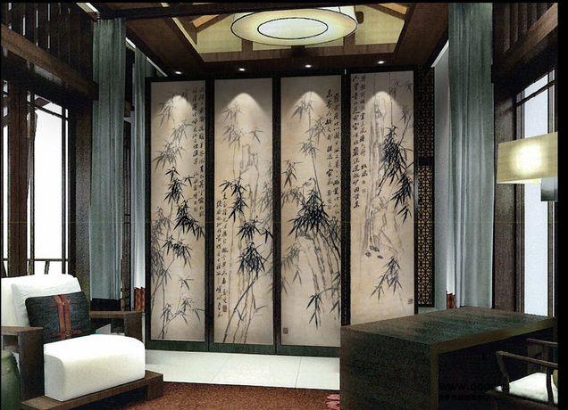 les 72 meilleures images du tableau papier peint chinois sur pinterest papier peint chinois. Black Bedroom Furniture Sets. Home Design Ideas