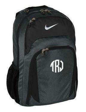 tinytulip.com - Monogrammed Nike Performance Backpack , $96.00 (http://www.tinytulip.com/monogrammed-nike-performance-backpack/)