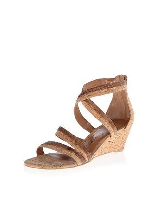 60% OFF Nina Original Women's Nadja Wedge Sandal (Natural Karung/Cork)