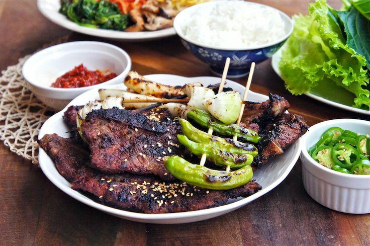 Korean Styled BBQ Beef Short Ribs~Kalbi(Galbi) | Seasaltwithfood