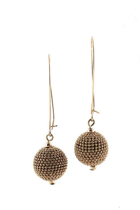 Designer Gold Tone Drop Earrings Ebay Link Fashion Jewelry Trendy
