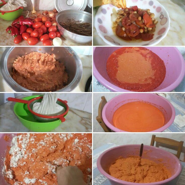 Tarhana yapımı