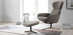 Le confortable fauteuil inclinable Athena - un design moderne par BoConcept