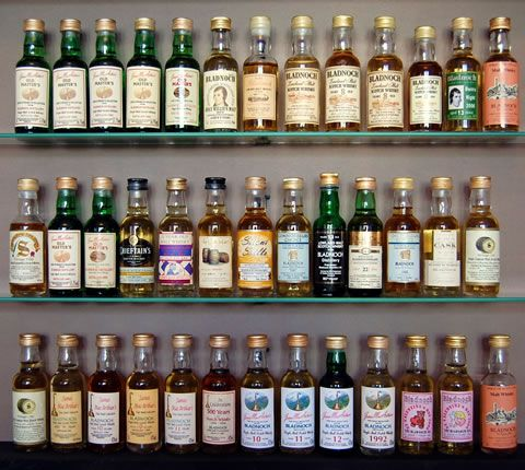 Whisky miniature gallery
