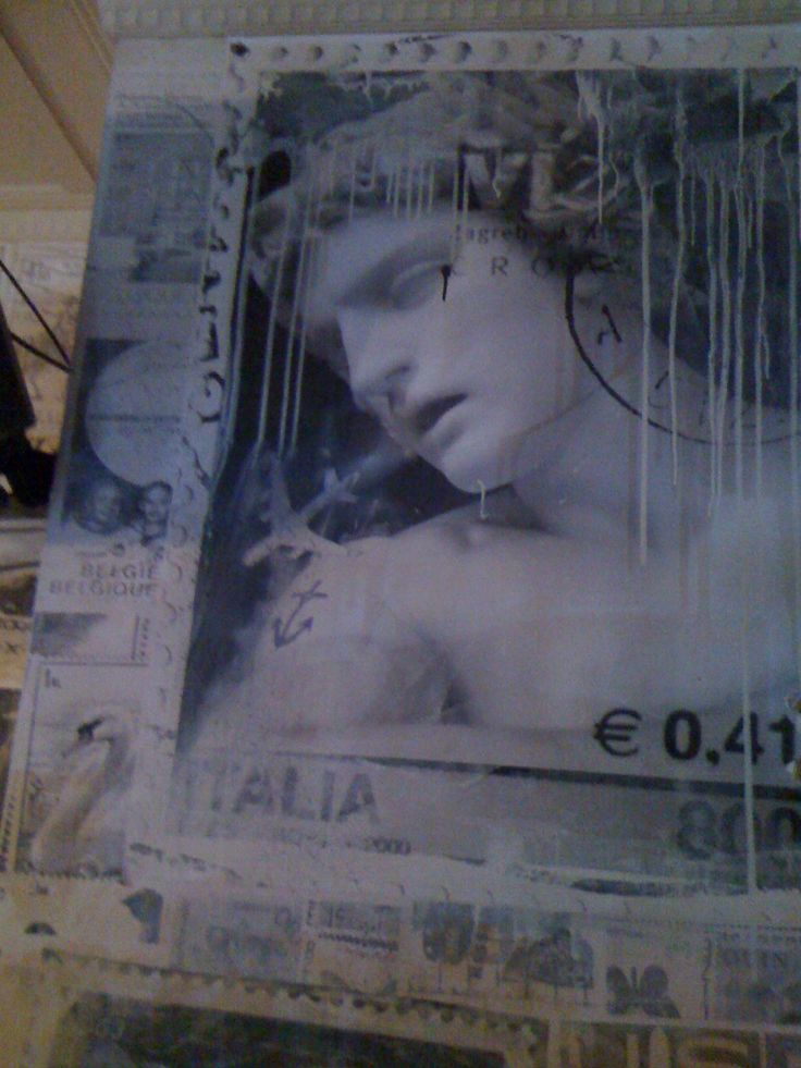 Simplesime, The Aviary Paste up of photo I took in Paris