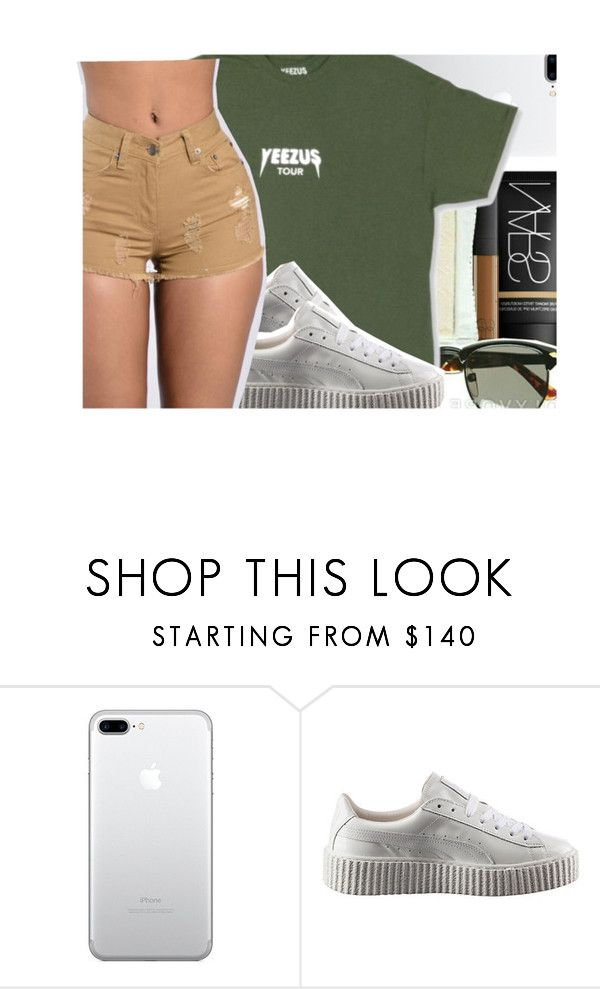 """""""YEEZUS TOUR😤"""" by oh-thatasia ❤ liked on Polyvore featuring Puma"""