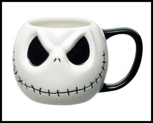 Jack Skellington Disney Ceramic Mugs.