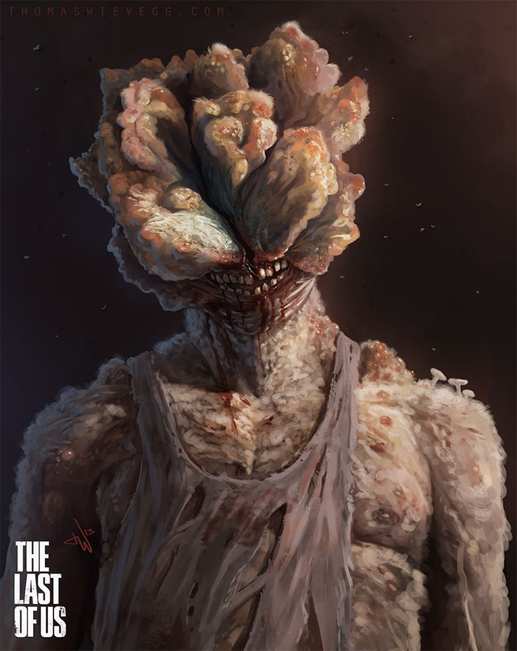 A Clicker from the Last of Us. Dunno about you guys.. but these scare the crap out of me.