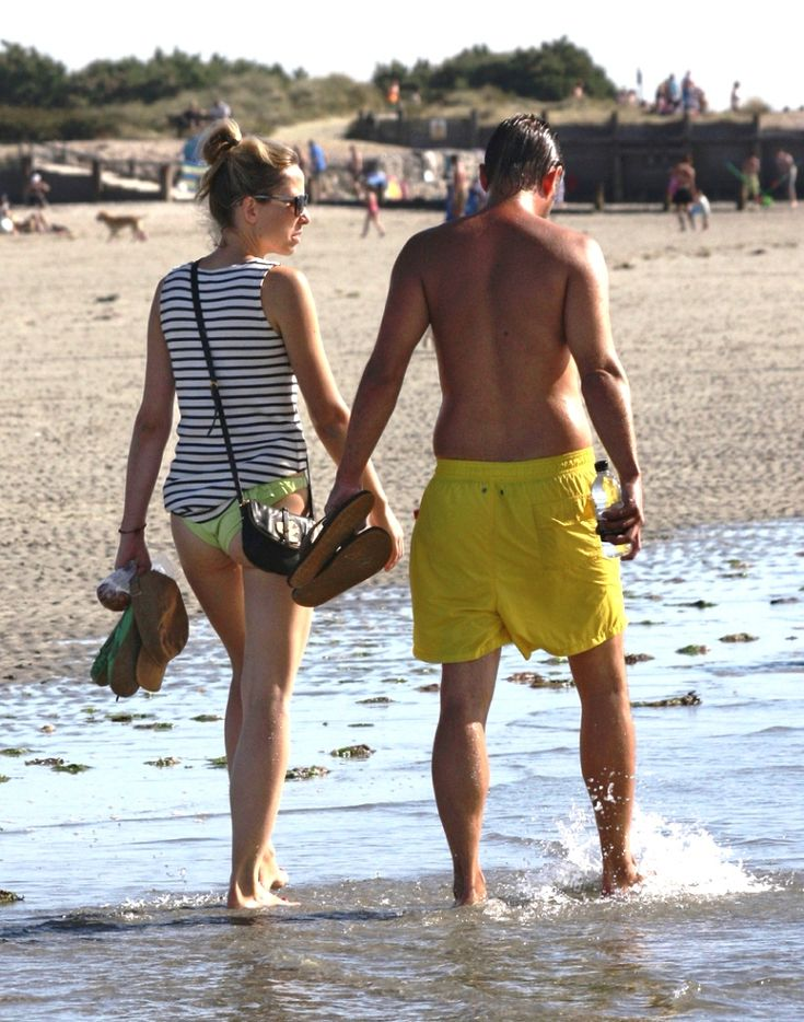 Luv at the beach... it doesn't get any better than this:)
