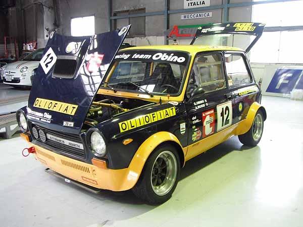 A112 ABARTH racing
