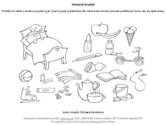 pracovní listy zdraví - Hledat Googlem