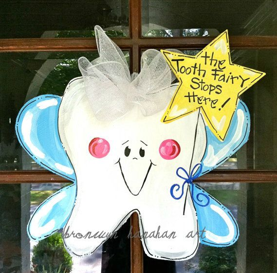 45 best images about tooth health on pinterest dental for Tooth fairy door ideas