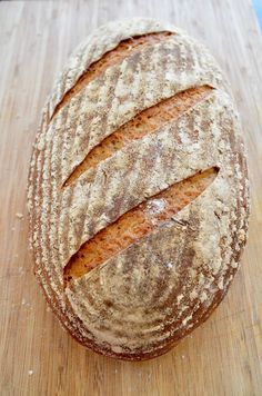 Mixed rye bread with sourdough