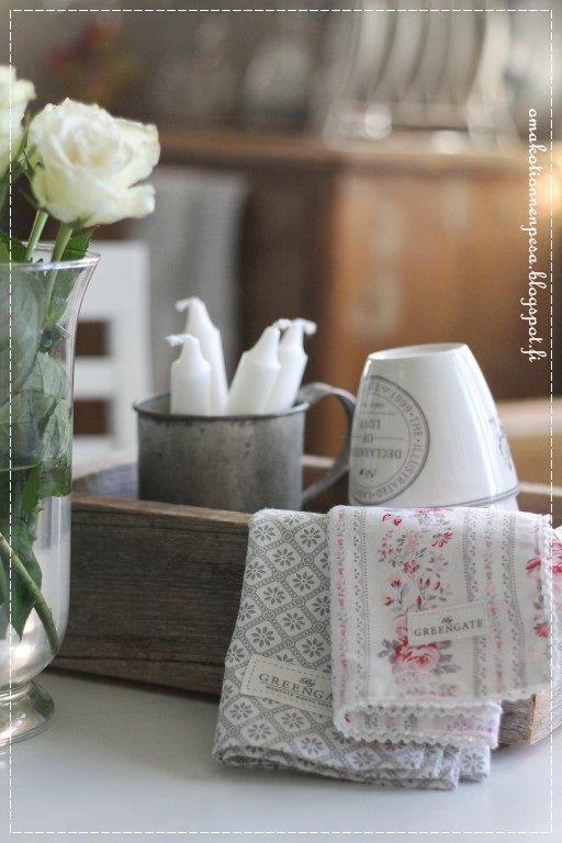 greengate koriliina, puulaatikko, maalaisromanttinen keittiö, Greengate latte