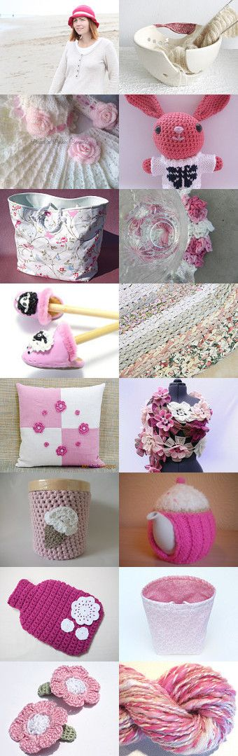 Pretty in Pink by Jacquelyn Jones on Etsy--Pinned with TreasuryPin.com