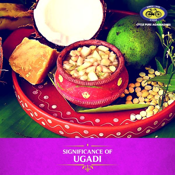 Ugadi is celebrated to welcome a whole new year. Celebrated mainly in Karnataka, Andhra Pradesh, and Telangana, this day signifies Lord Brahma's divine act of creating the universe. This day also marks the beginning of a new Hindu calendar. It is considered highly auspicious to perform the Panchanga Shravanam and offer prayers to Surya Bhagwan on this festival. Ugadi rituals include decorating homes and temples with flowers and mango leaves. #PureDevotion