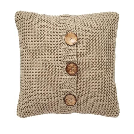 Chunky Knit Cushion | Dunelm Mill