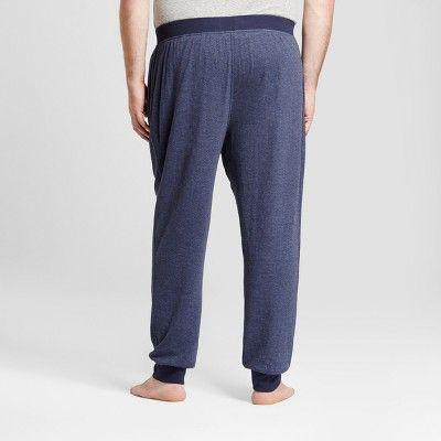 Men's Big & Tall Jogger Pajama Pants - Goodfellow & Co Navy (Blue) 2XBT