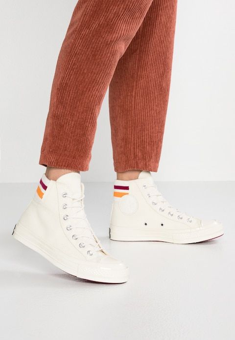 5cc2602fb61 CHUCK 70 - High-top trainers - egret/rhubarb/orange rind @ Zalando ...