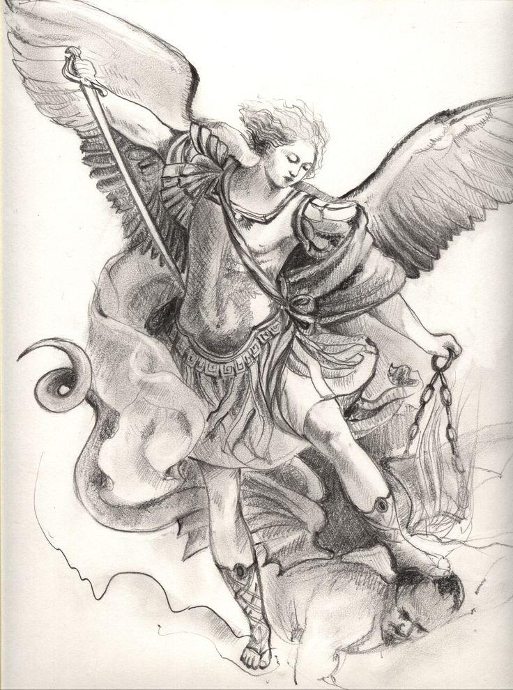 detail for -St. Michael the Archangel Tattoo Ideas, Michael Tattoo ...