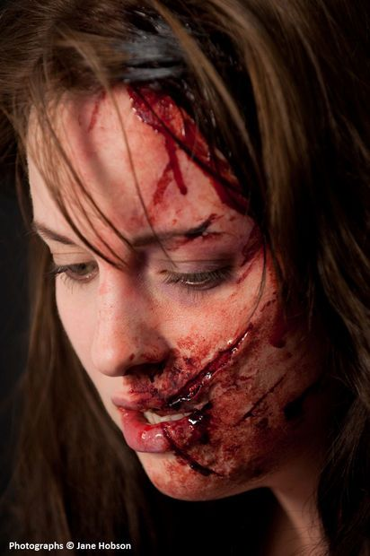 Picture of Using Silicone-based pastes to create quick makeup FX