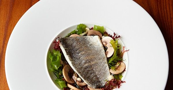 This sea bream, shiitake and enoki mushrooms recipe from Gordon Ramsay's Maze restaurant would make a sophisticated Asian-inspired dinner party showstopper.