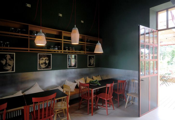 ERBA BRUSCA - milano, alzaia naviglio pavese 286 - very nice outdoor and food