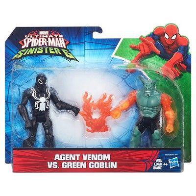 Ultimate Spider-Man Vs. The Sinister Six: Agent Venom vs. Green Goblin