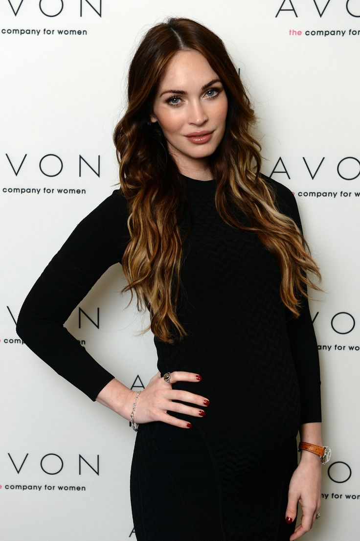 Megan Fox ombre hair color | Hair there | Pinterest