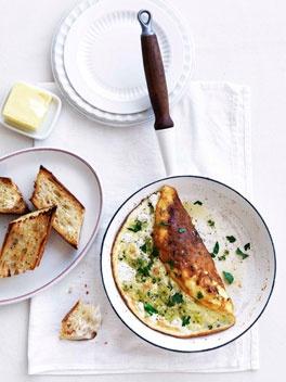 Leek and chèvre soufflé omelette: Souffle Omelette, Recipe, Breakfast, Food, Seemed, Chèvre Soufflé, Omelettes, Gourmet Traveller, Soufflé Omelette