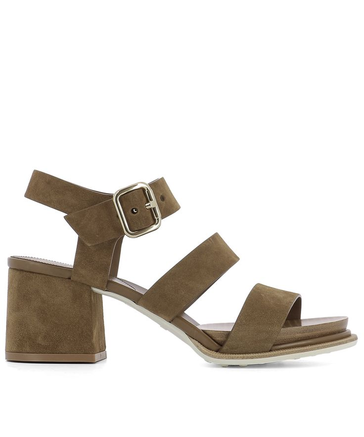 TOD'S-Tod's Women's Brown Suede Sandals #Shoes #Sandals #TOD'S