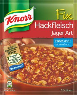 KNORR+Fix+für+Hackfleisch+Jäger+Art
