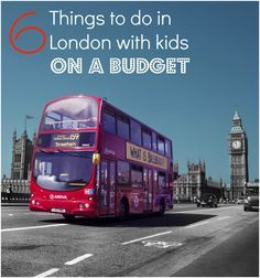 My top tips on the best things to do in London with kids, on a budget - the UK capital isn't a cheap city, but there's no reason family travel has to be expensive with these travel hacks