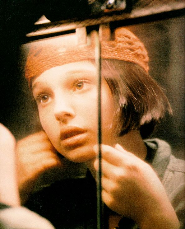 Natalie Portman as Mathilda in Léon: The Professional | 1994 - I totally did not know this was Natalie until much later.