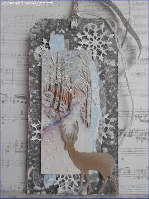Mój świat kolorów...: Zimowy tag...
