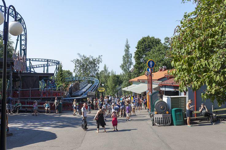 Ratalaakso - Linnanmäki #finland #helsinki #linnanmaki #summer #kesa #visitfinland #huvipuisto #amusementpark #nojespark #puisto #park