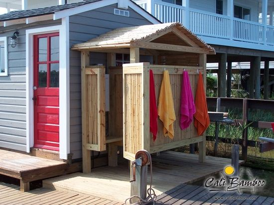 I really want an outdoor shower. It's a thing I really want. (sarah)