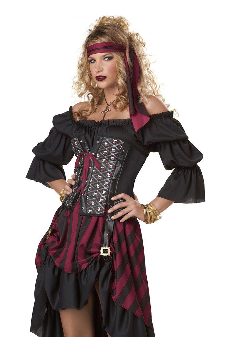 Pirate Adult Costume - Pirate Costumes